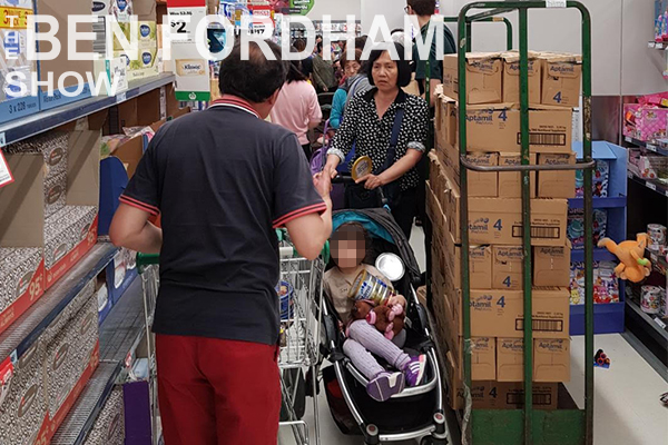 Article image for EXCLUSIVE | Baby formula frenzy, rort exposed at local Woolworths