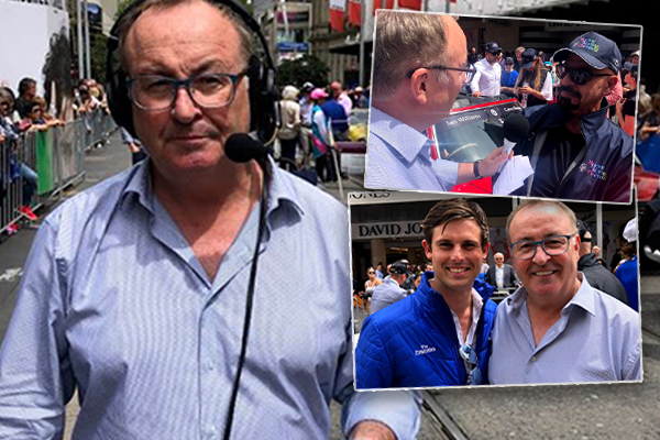 Article image for Chris Smith broadcasts live from Melbourne Cup Parade ahead of the great race
