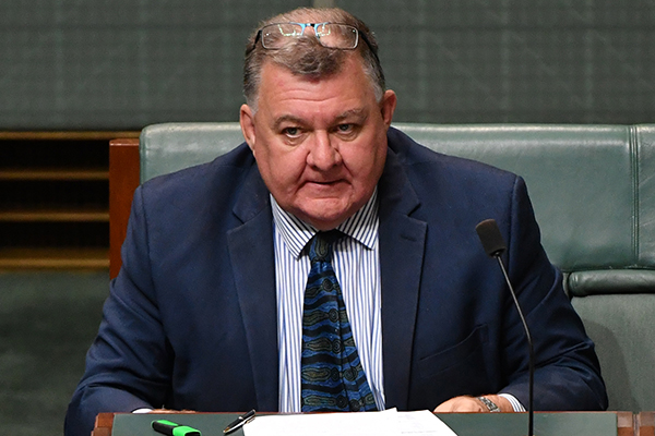 Article image for Liberal MP Craig Kelly doesn't rule out running as an independent