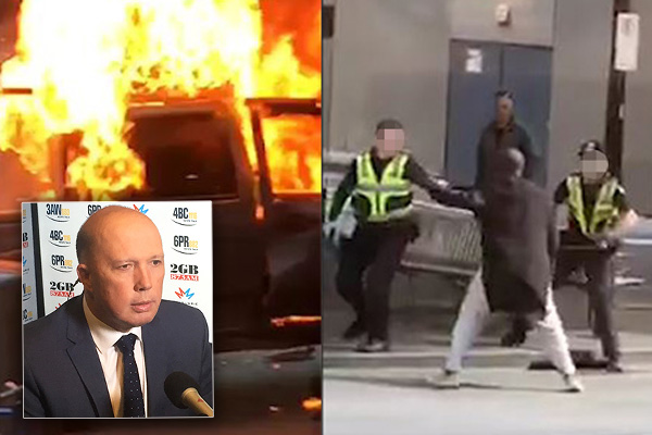 Article image for Intelligence agencies investigating motives of Bourke Street attacker, says Dutton