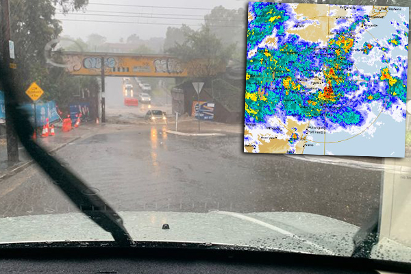 Article image for Sydney floods: Two dead as worst rain event in 44 years lashes the city
