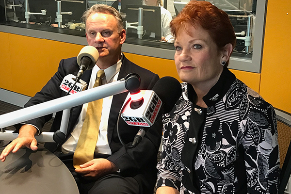 Article image for Pauline Hanson and Mark Latham respond to cynics who say they'll fail