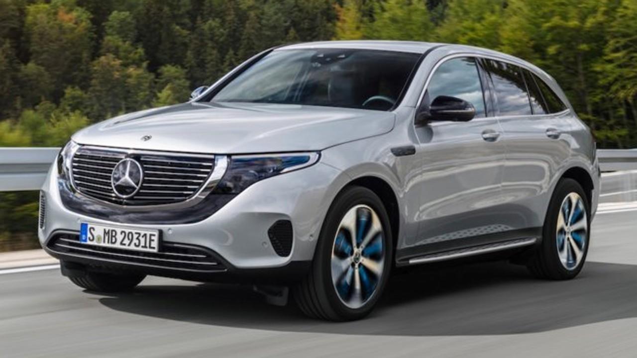 Mercedes-Benz EQC electric car due third quarter 2019.