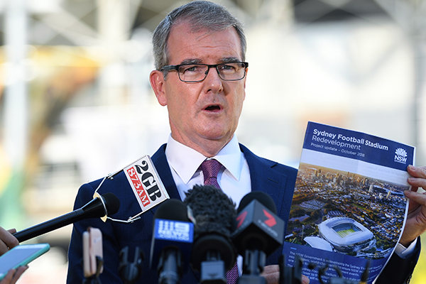 Article image for NSW Opposition vows to not spend a cent of taxpayer money on stadium rebuild