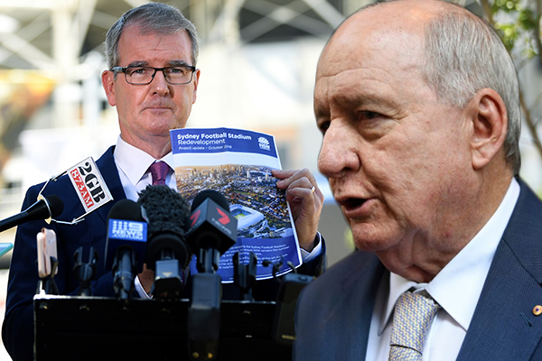 'Breathtaking ignorance': SCG Trust member Alan Jones responds to Labor's 'no stadium plan'