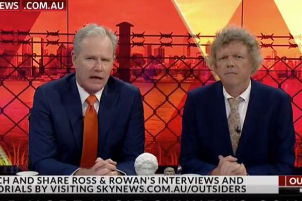 EXCLUSIVE   Sacked Sky News host Ross Cameron begrudgingly apologises for racist comments