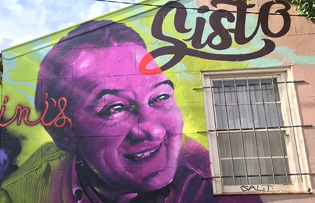 Article image for Bourke Street terror victim remembered with stunning Melbourne mural