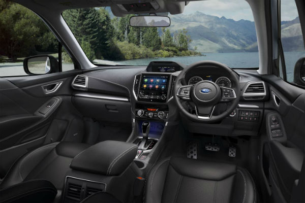 Subaru's latest Forester SUV – loaded with safety technology