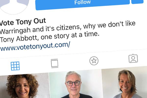 Turnbulls follow anti-Abbott Instagram page