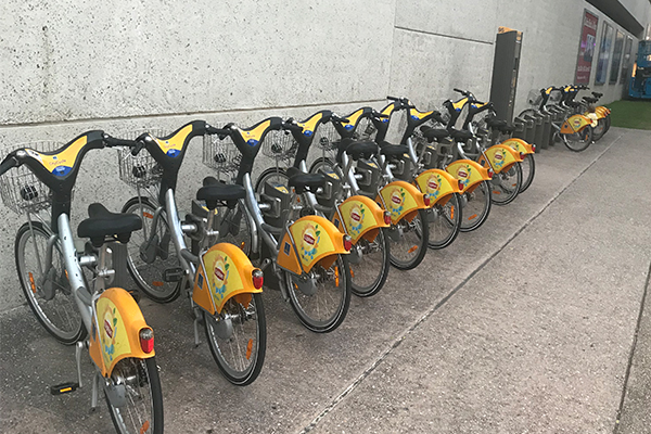 This is how a city SHOULD do share bikes