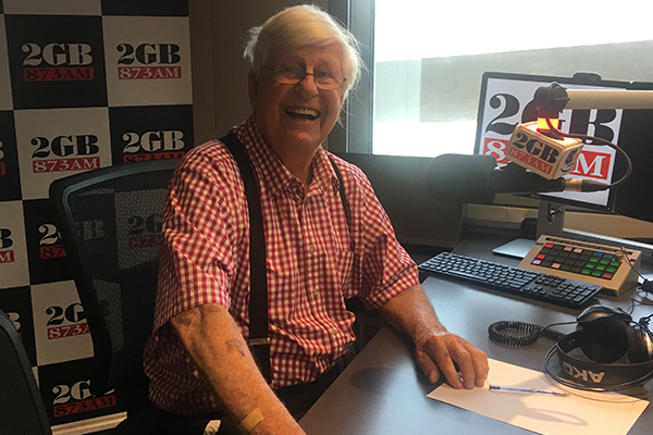 Article image for John Singleton's cunning plot to get radio legend Bob Rogers off-air