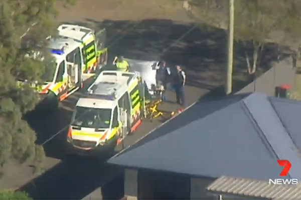 Elderly man dies in double domestic shooting in Sydney's south