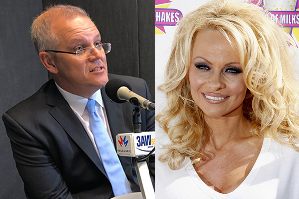 Article image for Pamela Anderson slams Prime Minister over 'smutty' comments