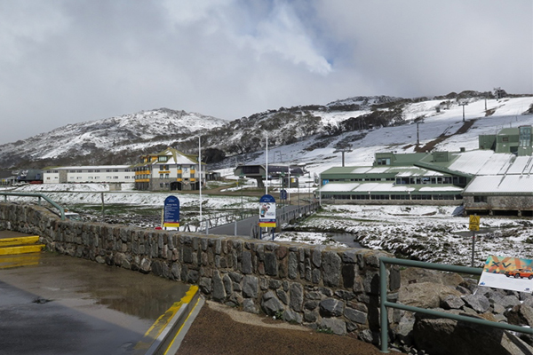 Article image for It's snowing at Perisher… in November!