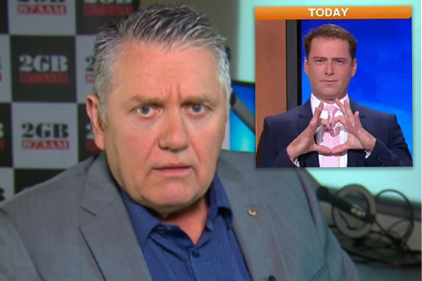 Ray offers Karl Stefanovic some hilarious fashion advice