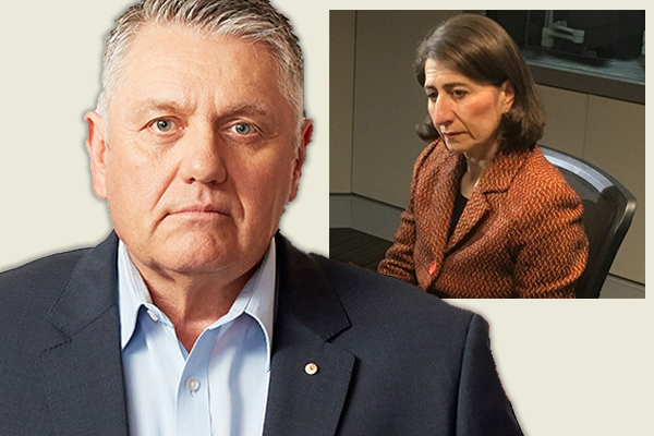 'Hang your head in shame!': Ray Hadley holds NSW Premier responsible for protest