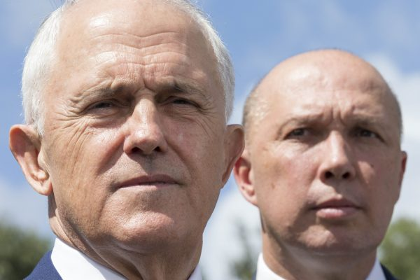 Article image for 'He doesn't have a political bone in his body': Dutton unleashes on Turnbull