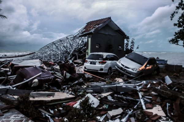 Article image for At least 280 dead after tsunami hits Indonesia without warning