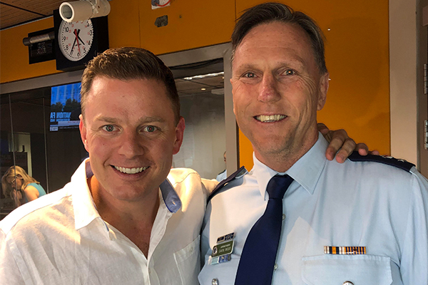 Article image for Public encouraged to have a yarn with police at BBQ with a Cop