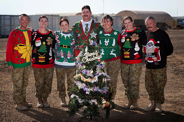 What our Aussie troops are doing for Christmas