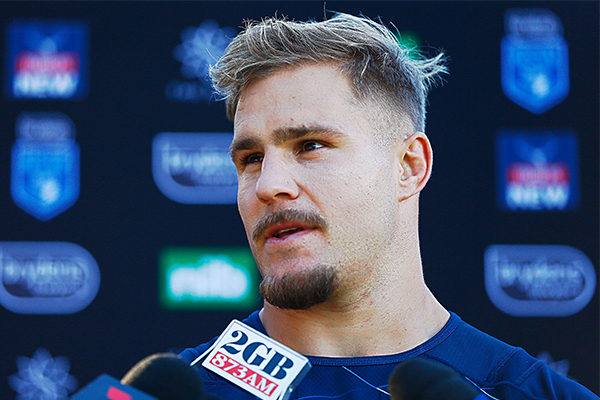 Article image for NRL player Jack De Belin charged over alleged sexual assault