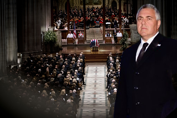 Ambassador Joe Hockey phones the openline after attending President Bush's funeral