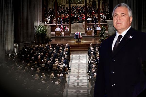 Article image for Ambassador Joe Hockey phones the openline after attending President Bush's funeral