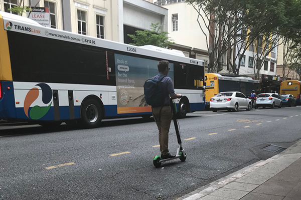 'Stupid scooters' plaguing Brisbane roads
