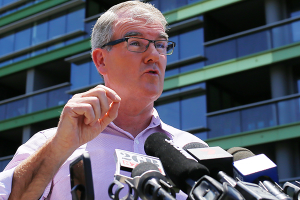 Article image for NSW Opposition leader calls for change after high-rise evacuation