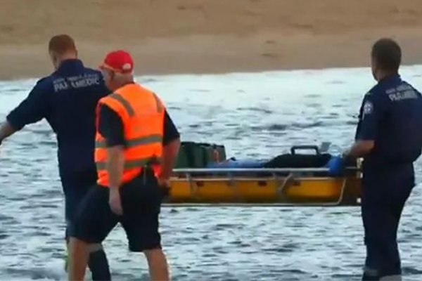 Article image for Search suspended for missing man after double drowning at Moonee Beach