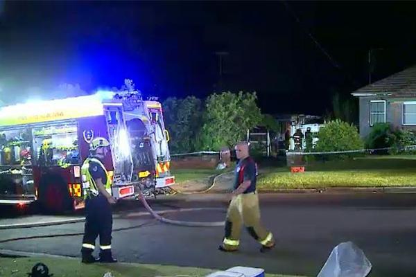 Elderly woman dies in house fire despite son's desperate efforts to save her