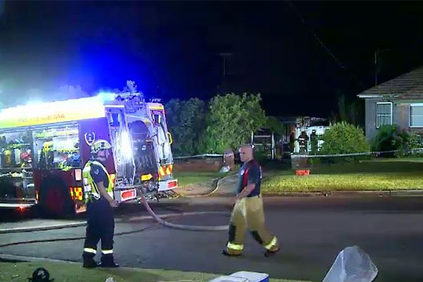 Article image for Elderly woman dies in house fire despite son's desperate efforts to save her