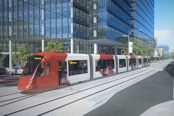 Article image for 'They're treating people like mugs!': Future of Parramatta Light Rail now in doubt