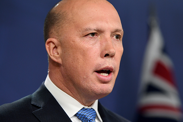 Peter Dutton: Nationals MP Andrew Broad has 'done the honourable thing'