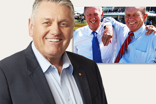 Gerry Harvey phones in to interrupt Ray Hadley and Singo