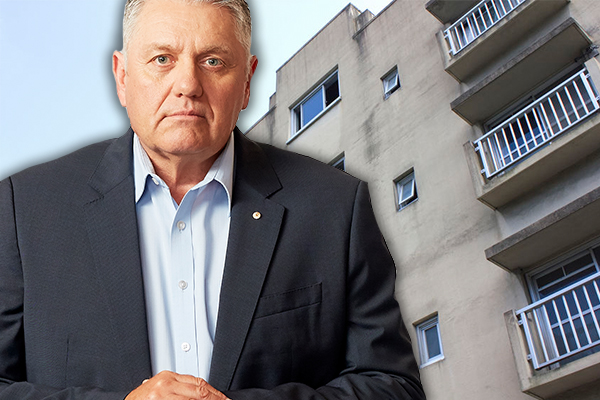 Article image for 'Get off their backside': Ray has stern message as public housing test is introduced