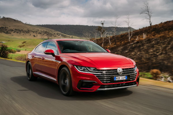 Volkswagen Arteon Four Door Coupe Gt Car With A Difference
