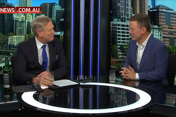 Article image for Ben Fordham opens up with Andrew Bolt