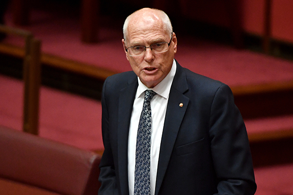 Article image for Will he be saved? Senator Jim Molan to meet with Prime Minister in 'immediate future'