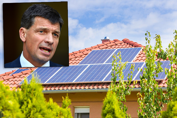 Article image for 'Blood on your hands': Energy Minister's solar panel warning
