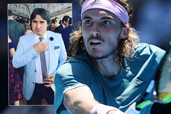How do you actually say Stefanos Tsitsipas? 'The Wog Boy' gives us a lesson