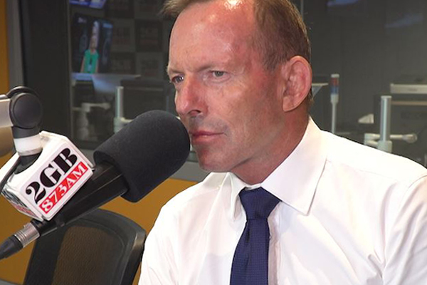 'She's the carbon tax candidate': Tony Abbott takes aim at his latest rival