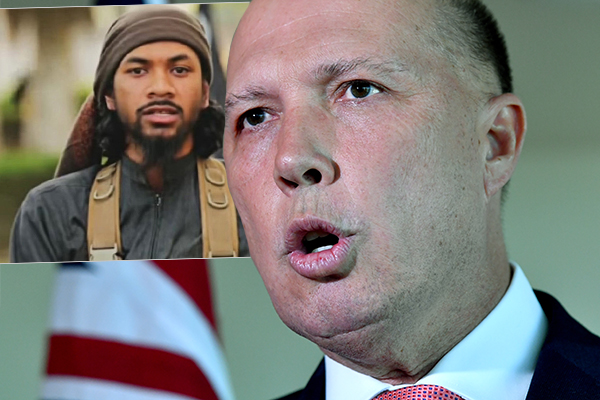 Peter Dutton insists accused IS recruiter Neil Prakash is a dual Fijian citizen