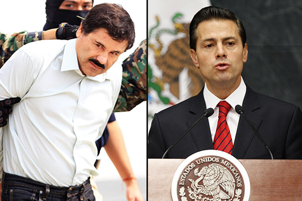 Article image for El Chapo associate claims the drug lord paid $100m bribe to a former Mexican president