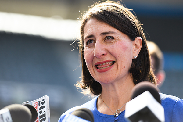 Article image for 'We'll become a backwater': Premier Berejiklian's warning to the people of NSW