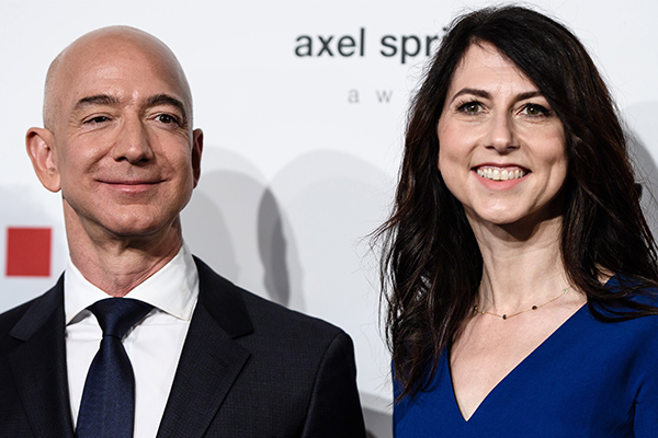 Article image for World's richest man to divorce his wife
