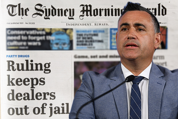 Article image for Deputy Premier 'shocked' at judiciary's soft new approach to drug dealers