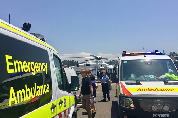 Man dies after being pulled from Kiama Blowhole
