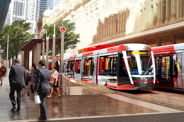 Opposition leader phones openline to refute light rail claims: 'I can't rip it up and that's that.'