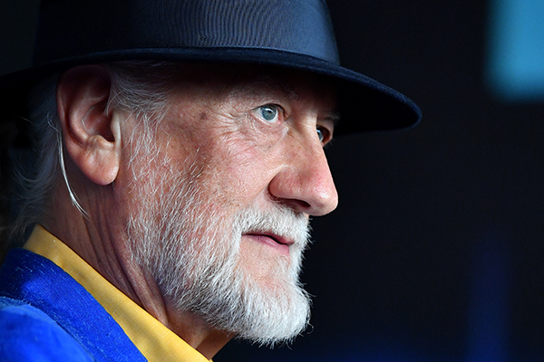Mick Fleetwood chats about the band's new singer ahead of Aussie tour